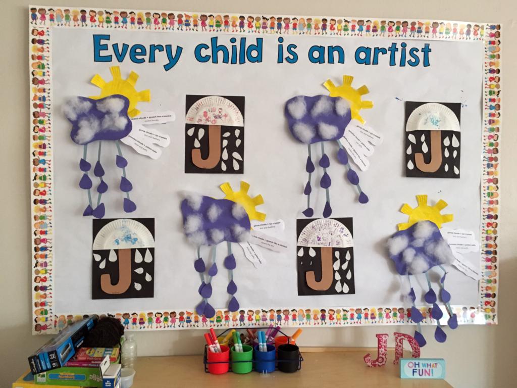Every child is an artist art board